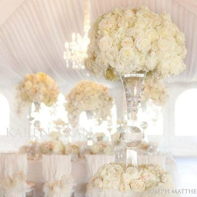 We love the romantic style of Karen Tran Florals! (photo by Joseph Matthew Photography)
