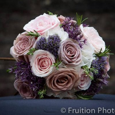 Sweet Avalanche in a bridal bouquet by Floral Opulence. Photo by Fruition Photography