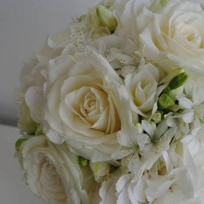 Bridal bouquet with Avalanche+ made by Wild Floral Designs