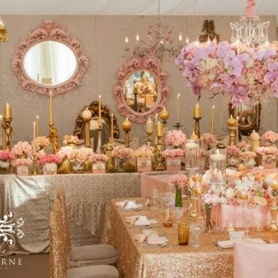 Sweet Avalanche roses byMeijer Roseswere styled by Red Floral Architecturefor a fabulous wedding! (photo byJeff Langhorne Photography)