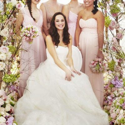 Bridal inspiration with wedding flowers styled by Philippa Craddock Flowers for Brides Magazine