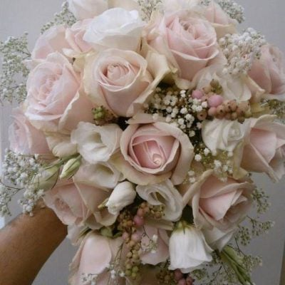 Bridal bouquet made by Il Giardinio del Re