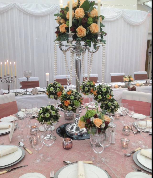 Centerpieces for weddings - Meijer Roses