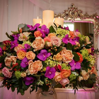 Decoration designed by Amie Bone Flowers