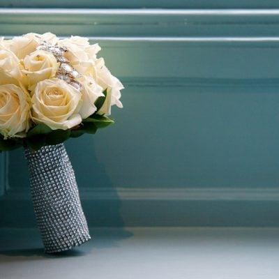 Bridal bouquet designed by Amie Bone Flowers