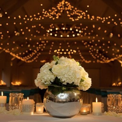 Centerpiece designed by Amie Bone Flowers<br />