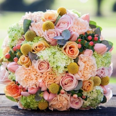 Wedding bouquet designed by Amie Bone Flowers
