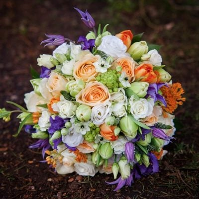 Bouquet designed by Amie Bone Flowers