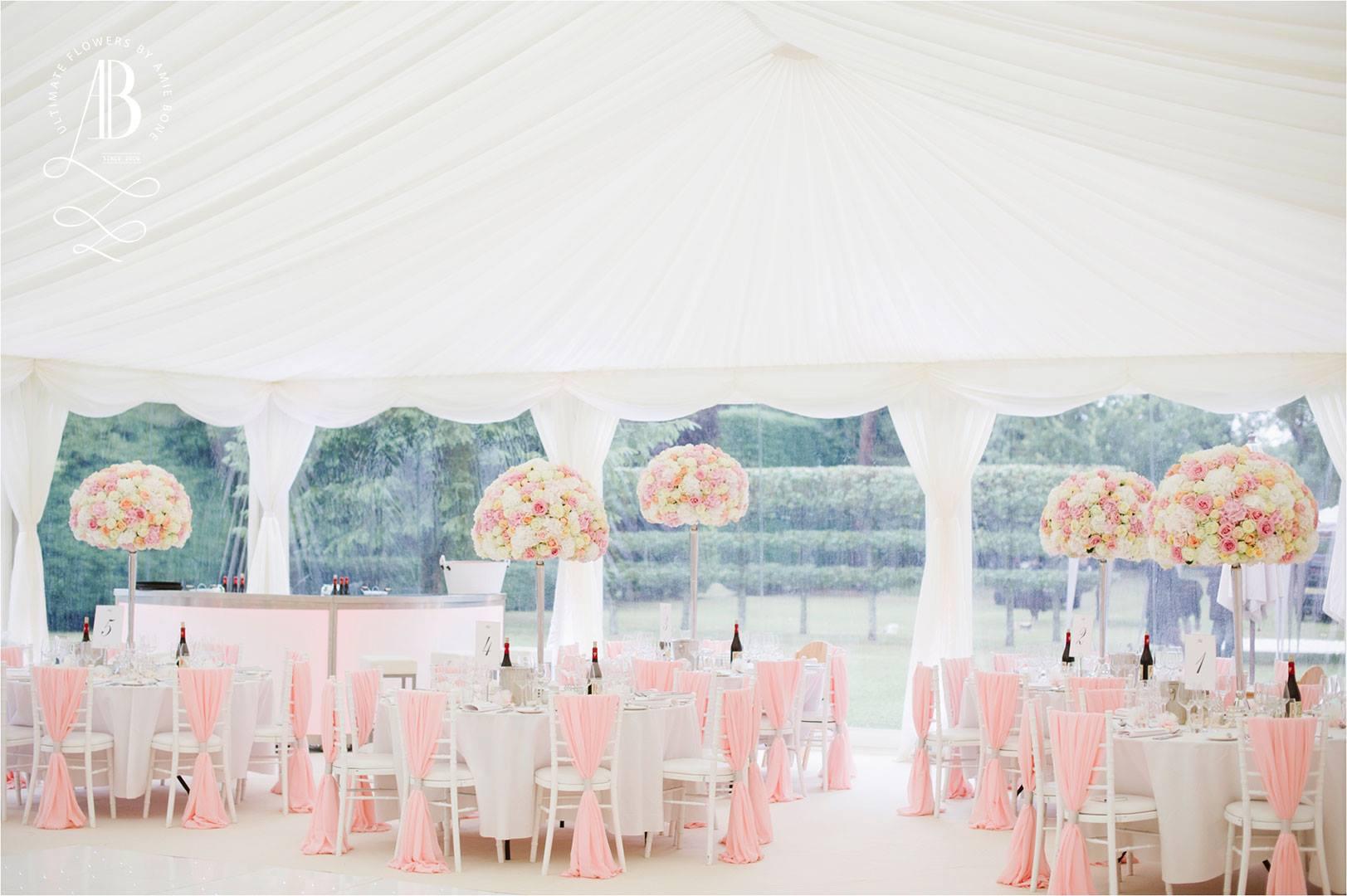 Sorbet heaven - wedding decor by Amie Bone Flowers