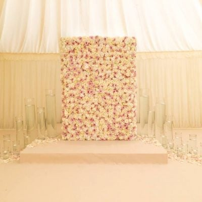 Pastel perfection by Flowers by Jemma Holmes using Avalanche and Sweet Avalanche by Meijer Roses