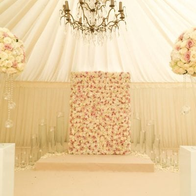 Designed by Flowers by Jemma Holmes using Sweet Avalanche and Avalanche by Meijer Roses