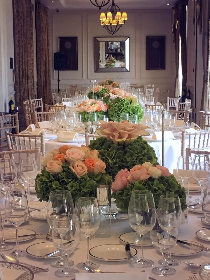 Outdoor ceremony meijer roses view on the beautifully decorated dining room junglespirit Gallery