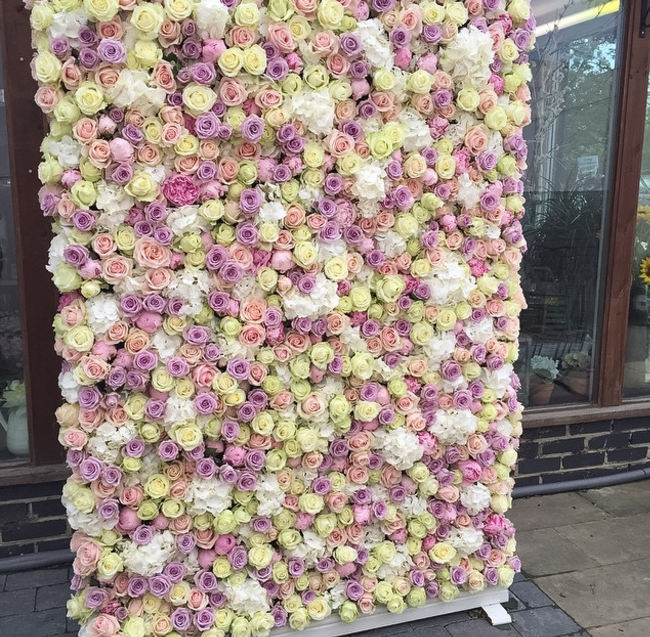 marvelous flower wall